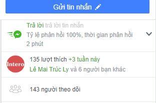 Biểu tượng trả lời tin nhắn tích cực cho Trang Fanpage