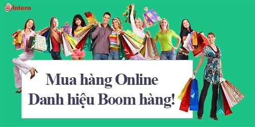 Mua hang online và danh hiệu boon hàng