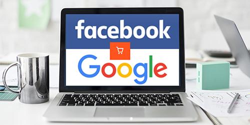 Facebook, Google điều kiện cần của kinh doanh online