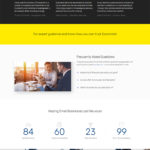 Giao diện website tài chính – mẫu website tài chính – economist