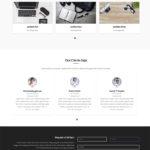 Giao diện website tài chính – mẫu website tài chính – financeup