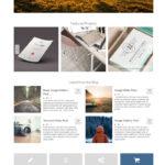 Giao diện web doanh nghiệp và bán hàng – Virtue