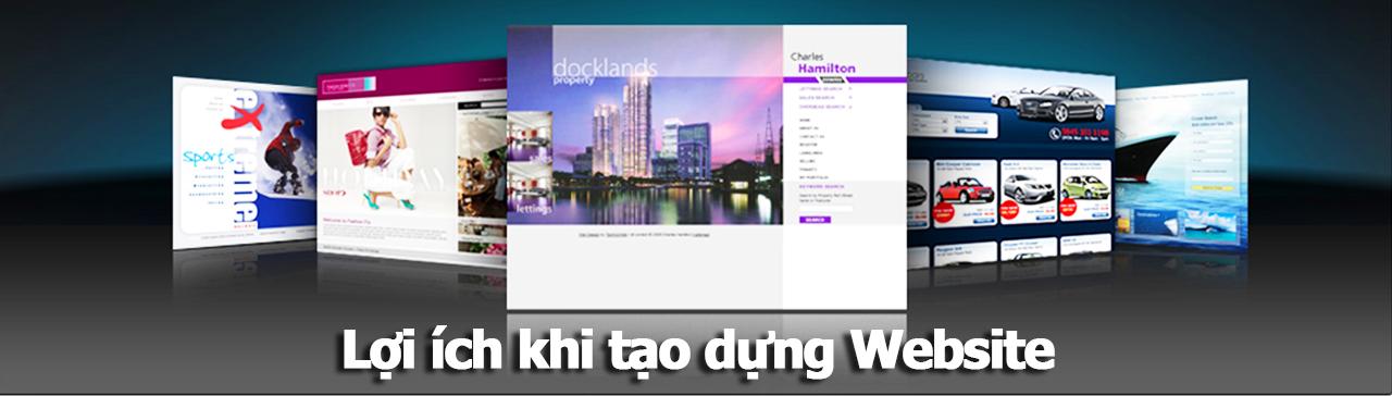 Lợi ích khi tạo dựng Website