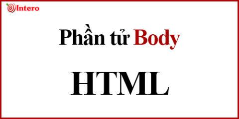 Phần tử Body trong Html cơ bản