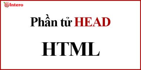 Phần tử Head trong Html