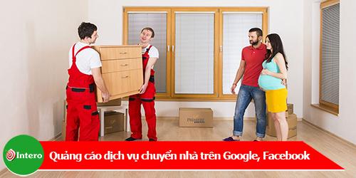 Nên quảng cáo dịch vụ chuyển nhà trên Google hay Facebook