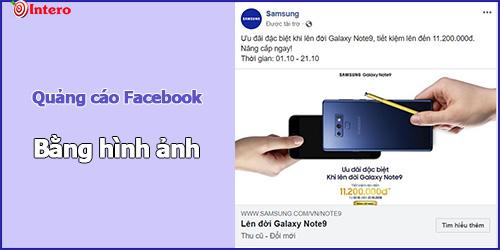 Quảng cáo hình ảnh trên Facebook