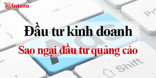 Quảng cáo online là cần thiết cho kinh doanh