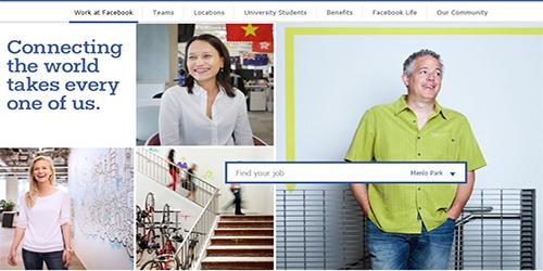 Tìm việc làm trên Facebook