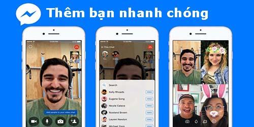 Trò chuyện video nhóm trên Messenger